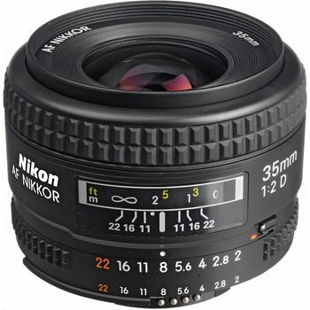 Rent Nikon 35mm ƒ2 D Lens