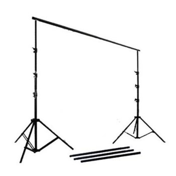 Rent CowboyStudio Photography and Video Continuous Triple Lighting Kit Triple Lighting Kit, Backdrop Support System, Black & White Muslin Backdrops and Carry Case for Support System