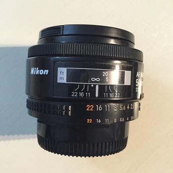 Rent Nikon AF Nikkor 50mm lens f/1.8D