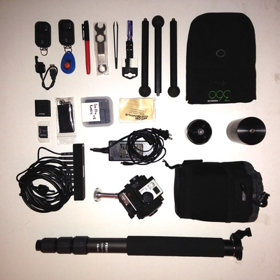 360 kit unpacked