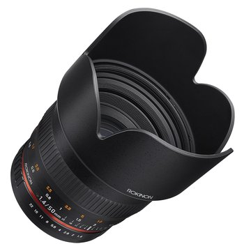 Rent Rokinon Rokinon 50mm F1.4 Lens for Sony E Mount