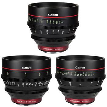 Rent Canon Canon Cine Primes Lens Kit