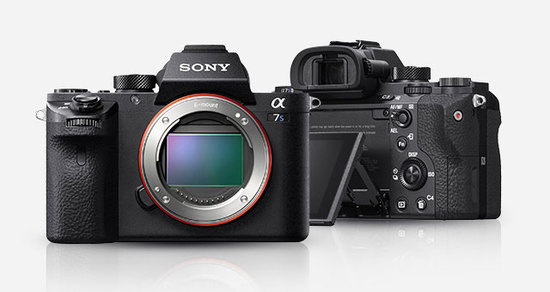 Sony a7sii front back
