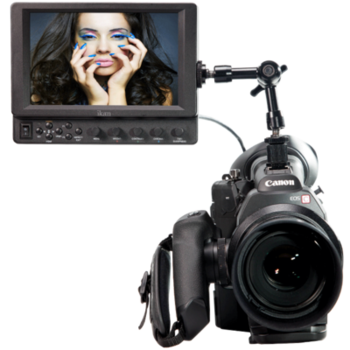 Rent 7'' monitor kit with noga arm and batteries + AC