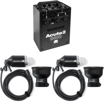 Rent Profoto Acute 2400 WS Two heads kit