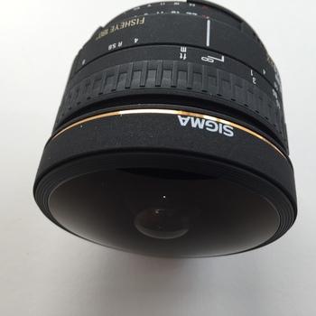 Rent Sigma 8mm f4 fisheye lens for Nikon