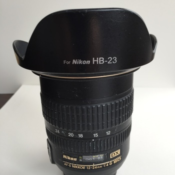 Rent Nikon AF-S 12-24mm f4 ED DX lens