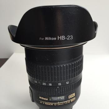 Rent Nikon AF-S 12-24mm f4 ED DX lens