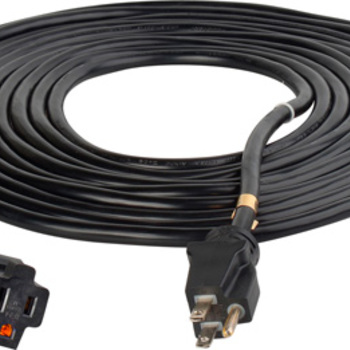 Rent AC Cords 25 50 or 100 feet
