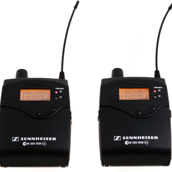 Rent Sennheiser G3 IEM wireless monitoring kit
