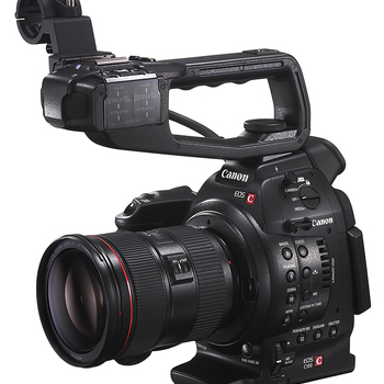 Rent Canon C100/Monitor/Tripod