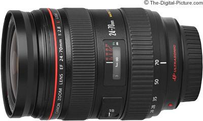 Canon ef 24 70mm f 2.8 l usm lens