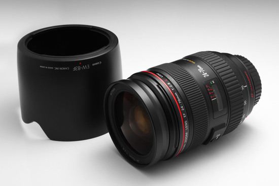 Canon 24 70mm f2.8 lens