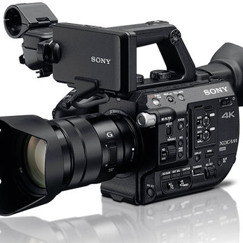 Rent SONY FS5 w/ Light and Shotgun Package