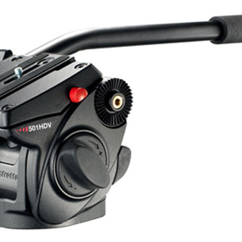 Rent Tripod Head Manfrotto  Model 701HDV