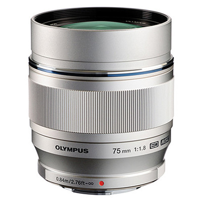 Olympus 75mm f 1 8 m zuiko 867365