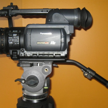 Rent Panasonic HVX200 P2 Camera + Cartoni Fluid Head Tripod