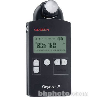 Gossen digipro f   flash and ambient light meter