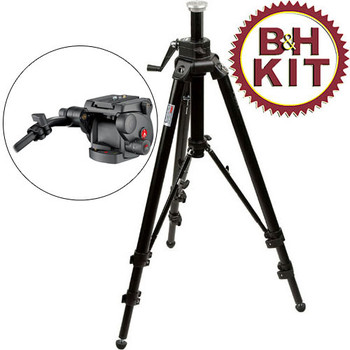 Rent Manfrotto Manfrotto 475 Tripod with Fluid Head