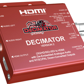 Rent Decimator Design Decimator 2 HD SDI to HDMI Converter