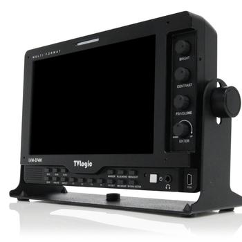"Rent TV Logic  LED 7"" Monitor LVM-074W"