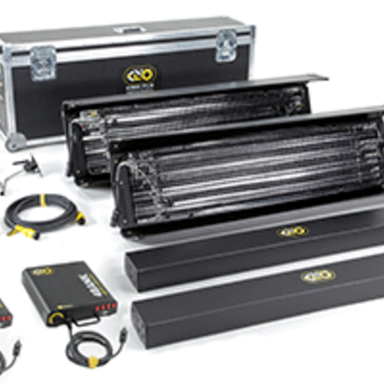 Rent Kino Flo Lighting Systems KinoFlo 4ft x 4 Bank Kit