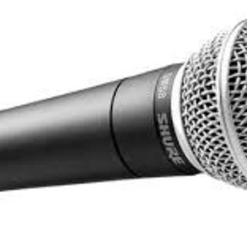 Rent Shure SM58 Vocal Microphone