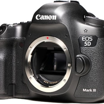 Rent Canon 5D MkIII DSLR