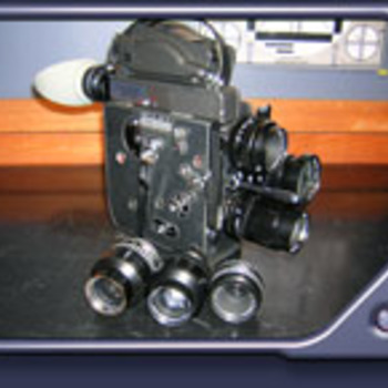 Rent Bolex H16 Rex 5 16mm Camera Kit with 3 Switar lenses