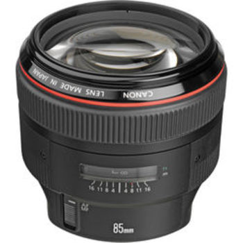 Rent Canon 85mm lenses