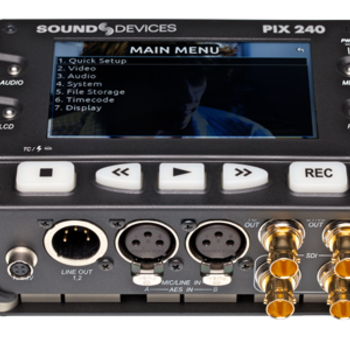 Rent Sound Devices Pix 240 SDI/HDMI Recorder