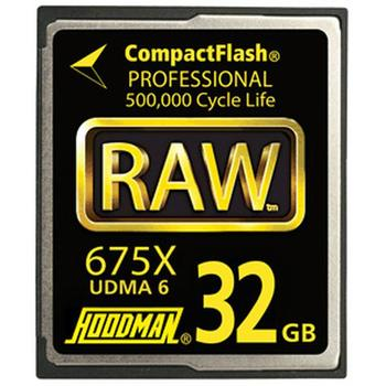 Rent Hoodman  RAW CF Card 32gb 675x
