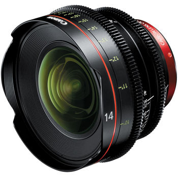 Rent Canon CN-E 14mm T3.1 EF Cinema Prime Lens