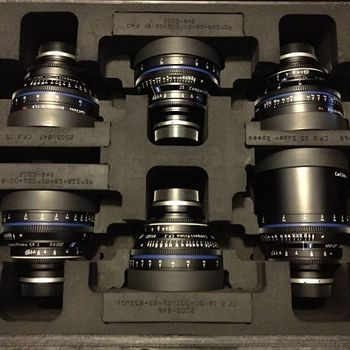 Rent Zeiss Lens Set
