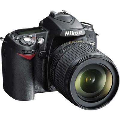 Nikon 25448 d90 slr digital camera 1233268509000 580422