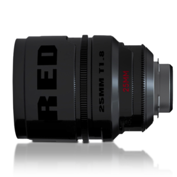 Rent Red Pro Prime 25mm T1.8