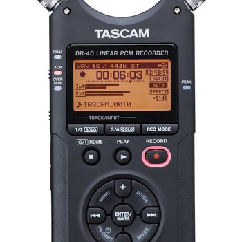 Rent Tascam DR-40 Digital Audio Recorder