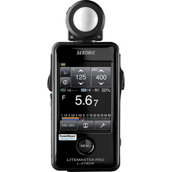 Rent Sekonic L‑478DR LiteMaster Pro Digital Light Meter