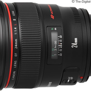 Rent Canon 24mm lenses