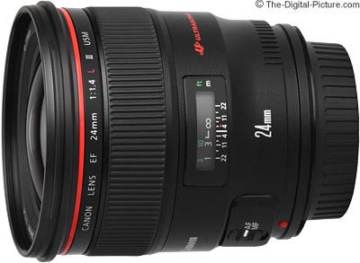 Canon ef 24mm f 1.4 l ii usm lens