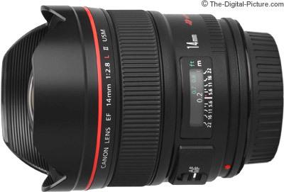 Canon ef 14mm f 2.8 l ii usm lens