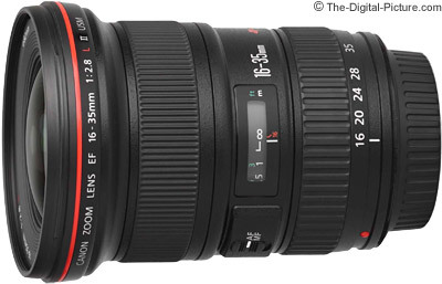 Canon ef 16 35mm f 2.8 l ii usm lens