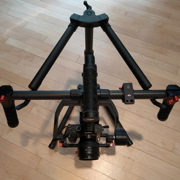 "Rent DJI Ronin-M Gimbal with 5"" Monitor, Hard Case and Thumb Controller"
