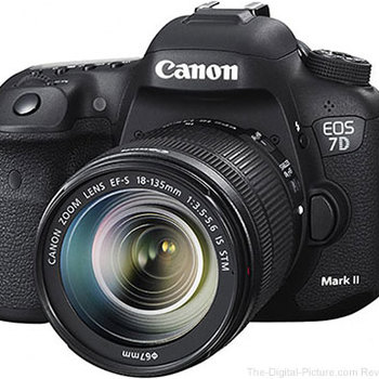 Rent Canon EOS 7D Mark II DSLR Camera