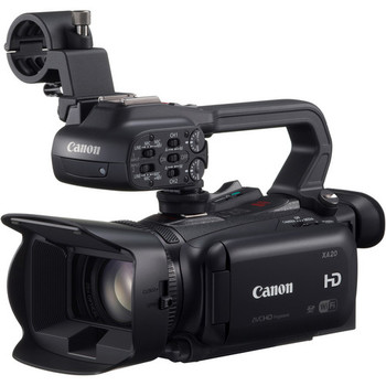 Rent Canon XA20 Professional HD Camcorder