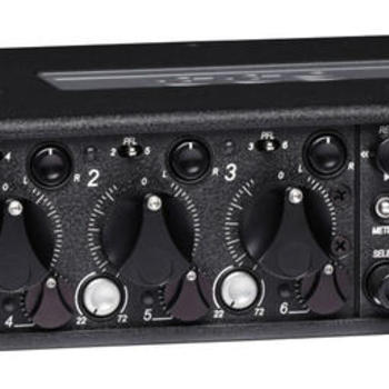 Rent Sound Devices 633 6-Input Compact Field Mixer and 10-Track Digital Recorder