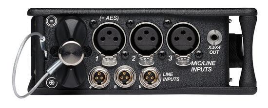 Sound devices 633 input