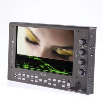 "Rent Ikan   MD7 7"" High Brightness 3G-SDI Monitor"