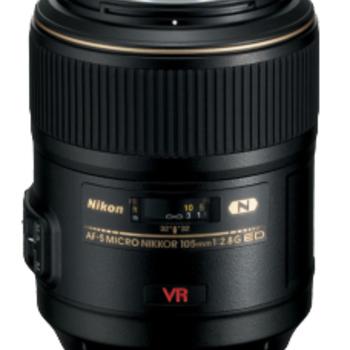 Rent Nikon  105mm Macro f2.8 AFS VR