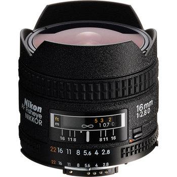 Rent Nikon AF Fisheye-Nikkor 16mm f/2.8D